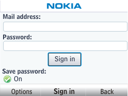 Nokia Asha 302 - E-mail - Manual configuration - Step 6