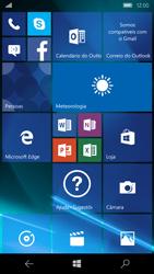 Microsoft Lumia 650 - Primeiros passos - Como ligar o telemóvel pela primeira vez -  1