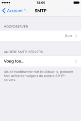 Apple iPhone 4S iOS 9 - E-mail - handmatig instellen - Stap 18