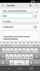 Huawei Ascend P7 - E-mail - Bericht met attachment versturen - Stap 5