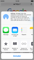 Apple iPhone 5s iOS 9 - Internet - navigation sur Internet - Étape 5