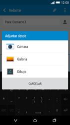 HTC One M8 - Mensajería - Escribir y enviar un mensaje multimedia - Paso 15
