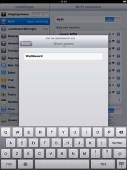 Apple iPad 2 - WiFi - Handmatig instellen - Stap 6