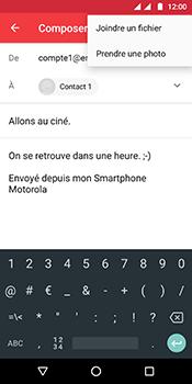 Motorola Moto G6 - E-mails - Envoyer un e-mail - Étape 12