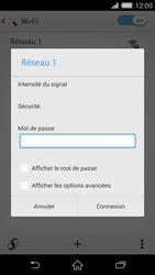Sony D6503 Xperia Z2 - Wifi - configuration manuelle - Étape 8