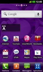 LG Optimus 3D Max - Email - Como configurar seu celular para receber e enviar e-mails com todos os provedores exceto Hotmail - Etapa 1