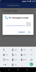 Wiko Harry 2 - Messagerie vocale - configuration manuelle - Étape 12