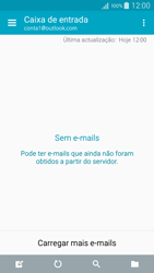 Samsung Galaxy A5 - Email - Adicionar conta de email -  11
