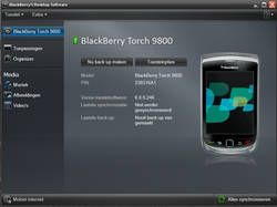 BlackBerry 9800 Torch - Software - installeer firmware update - Stap 17