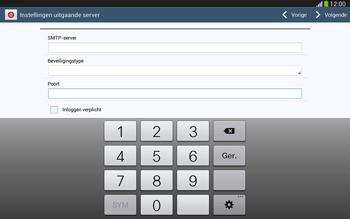 Samsung P5220 Galaxy Tab 3 10-1 LTE - E-mail - Handmatig instellen - Stap 15