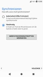 Sony Xperia XZ - Android Oreo - E-mail - e-mail instellen: POP3 - Stap 19