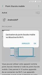 Samsung Galaxy A5 (2017) (A520) - Internet et connexion - Partager votre connexion en Wi-Fi - Étape 12