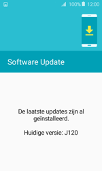 Samsung Galaxy J1 - Netwerk - Software updates installeren - Stap 9