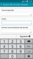 Samsung Galaxy A3 - E-mail - Configurar correo electrónico - Paso 10
