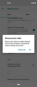 Motorola One Vision - Rede móvel - Como selecionar o tipo de rede adequada - Etapa 9