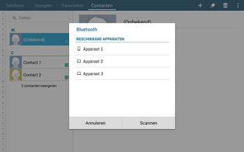 Samsung Galaxy Tab4 10.1 4G (SM-T535) - Contacten en data - Contacten overzetten via Bluetooth - Stap 11