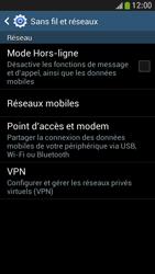 Samsung Galaxy S4 Mini - Internet et connexion - Désactiver la connexion Internet - Étape 5