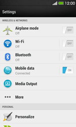 HTC Desire 500 - Internet - Enable or disable - Step 4