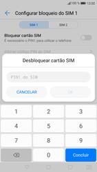 Huawei P9 Lite - Android Nougat - Segurança - Como ativar o código PIN do cartão de telemóvel -  7