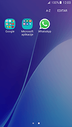 Samsung Galaxy A5 (2016) (A510F) - Aplicações - Como configurar o WhatsApp -  4
