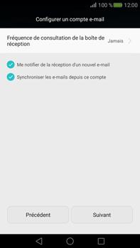 Huawei Mate S - E-mail - Configurer l