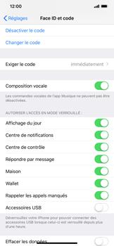 Apple iPhone XS Max - Sécuriser votre mobile - Activer le code de verrouillage - Étape 8