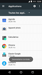 Crosscall Action X3 - Applications - Supprimer une application - Étape 8