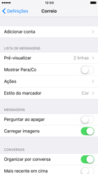 Apple iPhone 6s iOS 10 - Email - Adicionar conta de email -  4