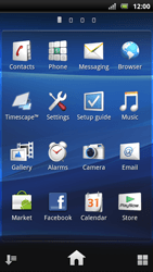 Sony Ericsson Xperia Arc S - Internet - Enable or disable - Step 3