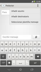 Sony Xperia M2 - Mensajería - Escribir y enviar un mensaje multimedia - Paso 6