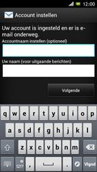 Sony ST26i Xperia J - E-mail - e-mail instellen: POP3 - Stap 15