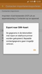 Samsung Galaxy S5 Neo (SM-G903F) - Contacten en data - Contacten kopiëren van toestel naar SIM - Stap 9