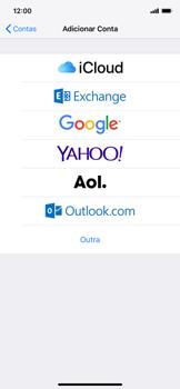 Apple iPhone XR - Email - Como configurar seu celular para receber e enviar e-mails - Etapa 5