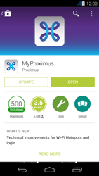 Acer Liquid Jade Z - Applications - MyProximus - Step 7