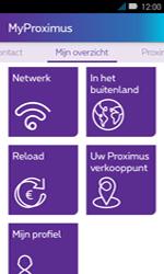 Huawei Y3 - Applicaties - MyProximus - Stap 16
