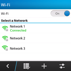 BlackBerry Q5 - WiFi and Bluetooth - Manual configuration - Step 9