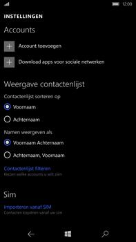 Microsoft Lumia 950 XL - Contacten en data - Contacten kopiëren van SIM naar toestel - Stap 6