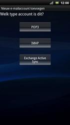 Sony Ericsson Xperia Arc - E-mail - e-mail instellen: POP3 - Stap 6