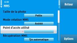 Nokia N97 - MMS - configuration manuelle - Étape 23
