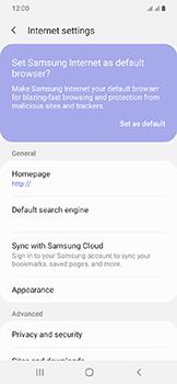 Samsung Galaxy A20e - Internet - Manual configuration - Step 26