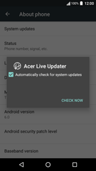 Acer Liquid Zest 4G - Device - Software update - Step 7