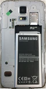 Samsung G900F Galaxy S5 - Primeros pasos. - Retira y/o inserta la SIM