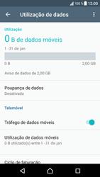 Sony Xperia XZ - Android Nougat - Internet no telemóvel - Configurar ligação à internet -  5
