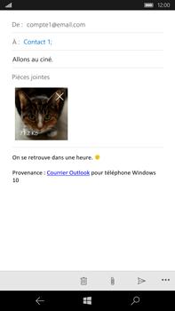 Microsoft Lumia 950 XL - E-mail - Envoi d