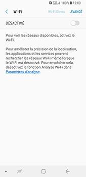 Samsung Galaxy A8 (2018) - Wifi - configuration manuelle - Étape 5