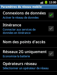 Samsung S5300 Galaxy Pocket - Internet - Configuration manuelle - Étape 7