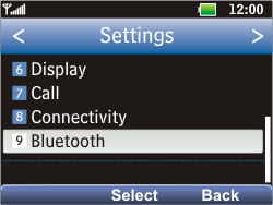 LG C360 Golf - Bluetooth - Pair with another device - Step 4