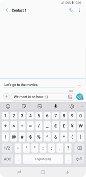 Samsung Galaxy Note9 - MMS - Sending pictures - Step 12