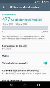 Sony Xperia XA1 Ultra - Internet et connexion - Désactiver la connexion Internet - Étape 5