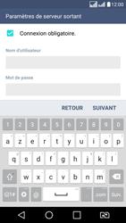 LG K8 - E-mail - Configuration manuelle - Étape 15